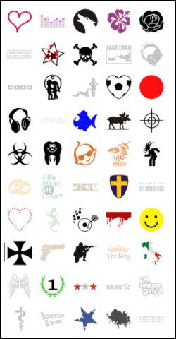 Tattoo voorbeelden ninja voorbeelden contactadvertentie - Omslag van pergola ...